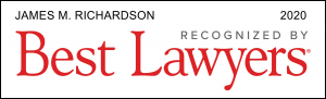 Best Lawyers 2020 James M. Richardson