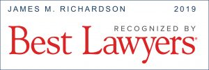 Best Lawyers 2019 James M. Richardson
